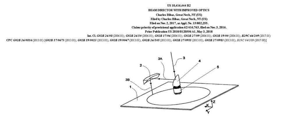 tecnica US patent 3
